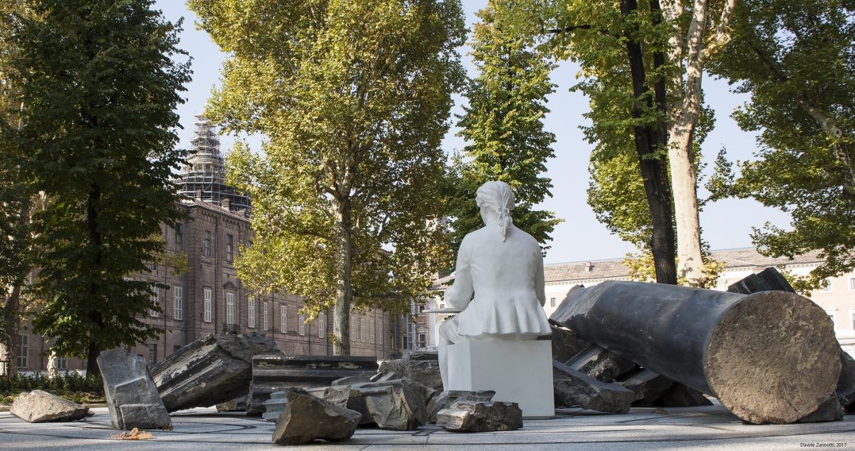 Giardino reale a torino fotografia stock immagine di europa