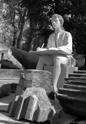 Giulio Paolini Pietre Preziose, Boschetto Giardini Reali Torino