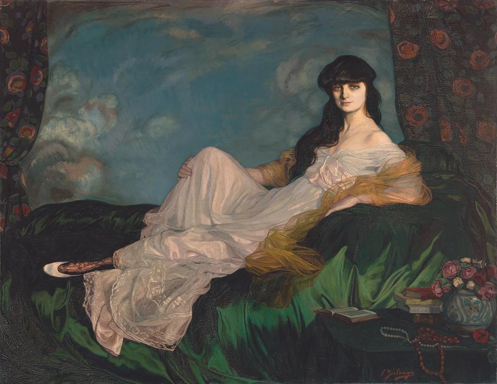 Ignacio Zuloaga, Portrait of Countess Anna de Noailles, 1913. Museo de Bellas Artes de Bilbao. Photo © Bilboko Arte Ederren Museoa-Museo de Bellas Artes de Bilbao © Ignacio Zuloaga, VEGAP, Madrid, 2017