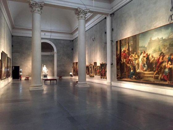 Il riallestimento del salone della Galleria Nazionale a Parma