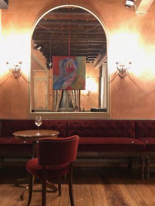 In ostaggio di loro stessi, Cosimo Cavallo, Caffè Fiorio, Torino, photo Claudia Giraud