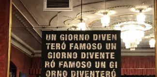 In ostaggio di loro stessi, Gianni Colosimo, Caffè Fiorio, Torino, photo Claudia Giraud