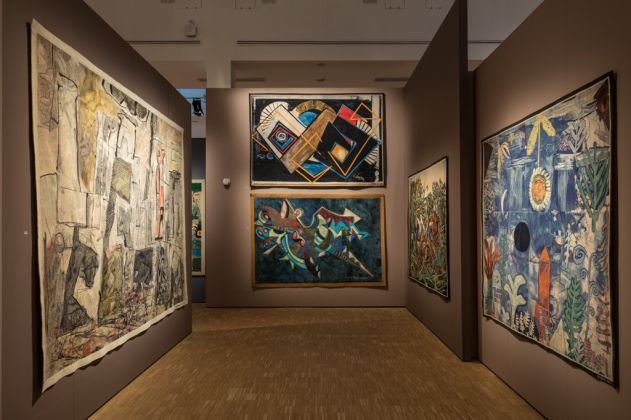 Intrecci del Novecento. Exhibition view at La Triennale di Milano, 2017. Photo Gianluca Di Ioia