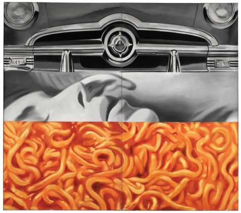 James Rosenquist, I Love You with My Ford, 1961. Moderna Museet, Stoccolma