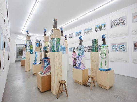 Jan De Cock. Everything for you, Torino. Exhibition view at Galleria Francesca Minini, Milano 2017. Photo Agostino Osio