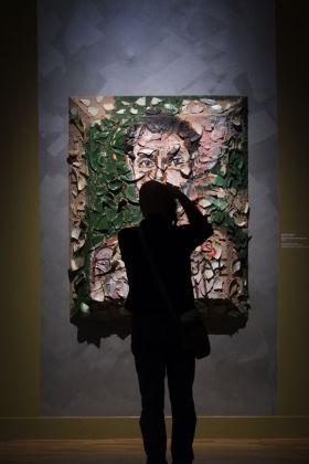 Julian Schnabel, Head. Portrait of Gian Enzo Sperone, 1988. Collezione Gian Enzo Sperone. © Julian Schnabel by SIAE 2017