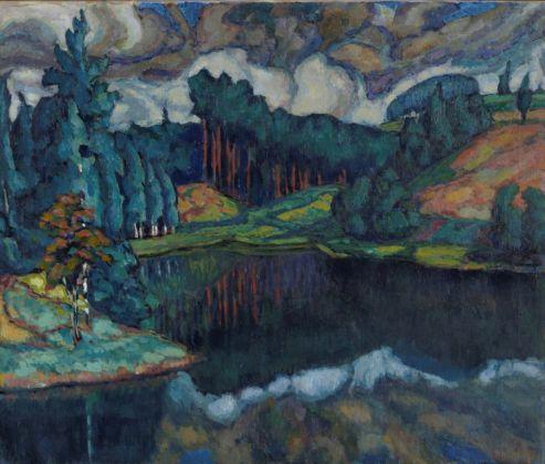 Konrad Mägi, Lago di Kasaritsa, 1916-17. Museo nazionale d'arte, Estonia