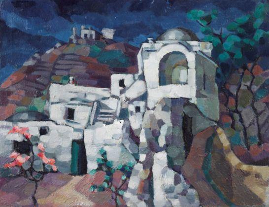 Konrad Mägi, Rovine a Capri, 1922-23. Museo nazionale d'arte, Estonia