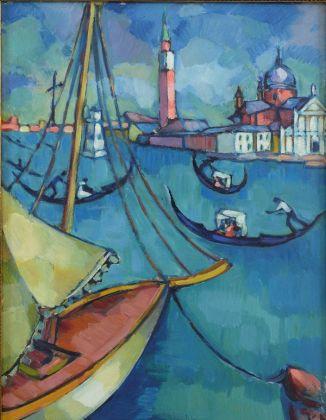 Konrad Mägi, Venezia, 1922-23. Collezione privata