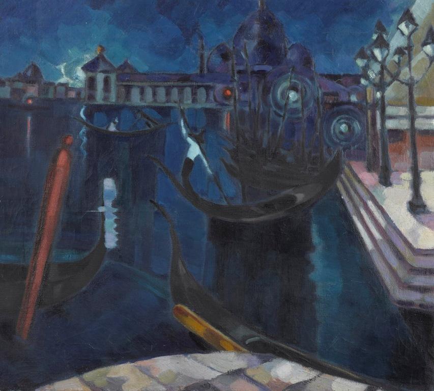 Konrad Mägi, Venezia, 1922-23. Museo nazionale d'arte, Estonia
