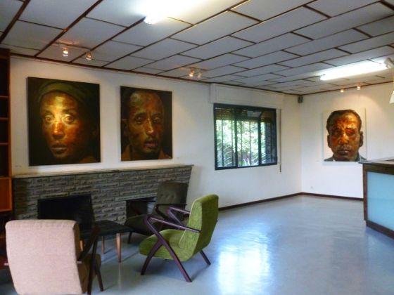 La LeLa Art Gallery di Addis Abeba con opere di Tewodros Hagos