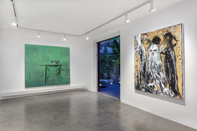 La distanza delle ragioni. Exhibition view at Galleria Anna Marra, Roma 2017