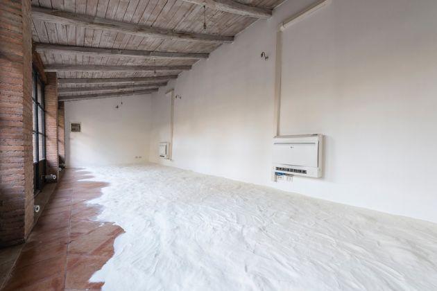 Liaisons/Links. Installation view at Villa Medici, Roma 2017. Latifa Echakhch, photo credit Sebastiano Luciano