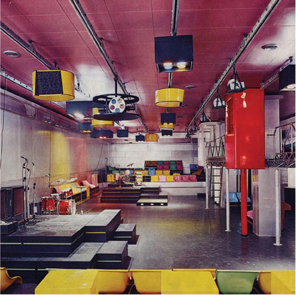 L'interno del Piper, Torino