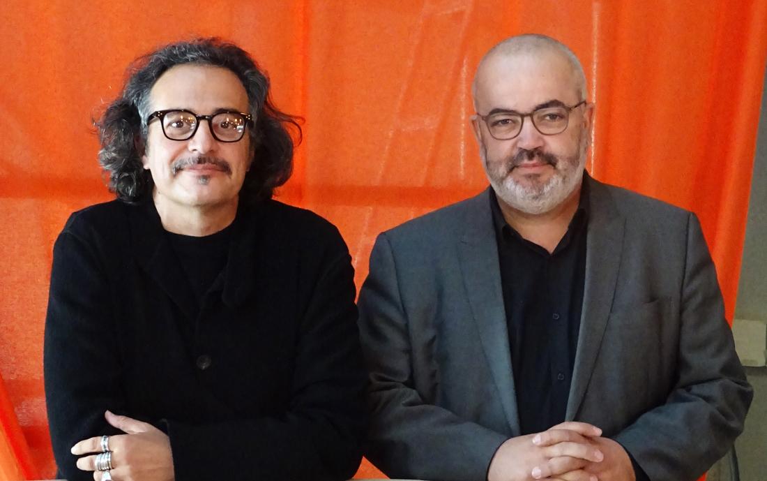 Luca Galofaro e Abdelkader Damani