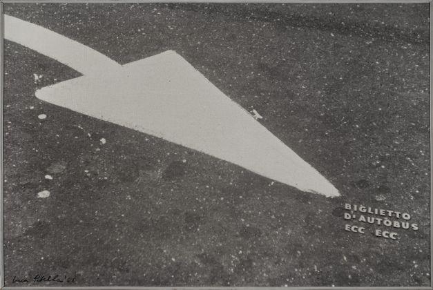 Luca Maria Patella, Biglietto d'autobus ecc.ecc., 1966