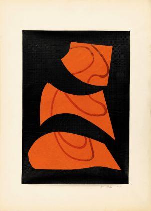 Mario Nigro, Senza titolo, 1948. Milano, collezione privata