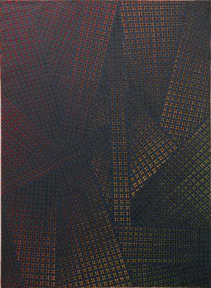 Mario Nigro, Spazio totale, 1953. Locarno, Fondazione Ghisla Art Collection
