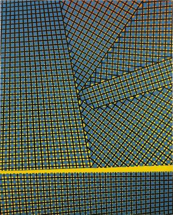 Mario Nigro, Spazio totale interruzione, 1954. Milano, collezione privata