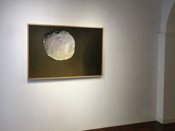 Massimiliano Tommaso Rezza. Die andere Seite. Installation view at Colli independent art gallery, Roma 2017