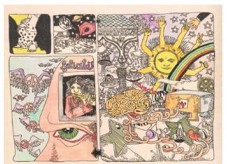 Matteo Guarnaccia, Succhiando il cervello senza sputare nulla e senza smettere di parlare, 1969-70