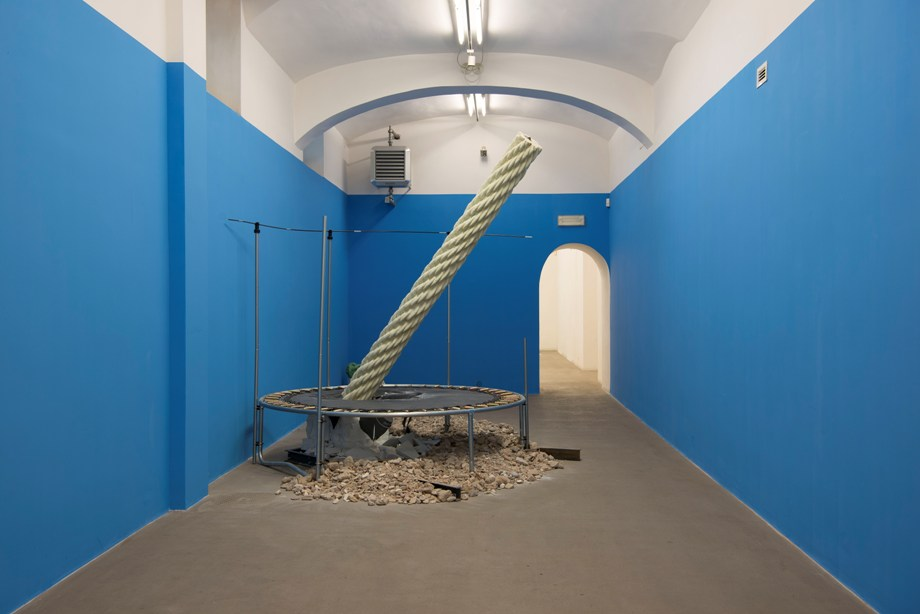 Mircea Cantor. Your ruins are my flag. Fondazione Giuliani, Roma 2017