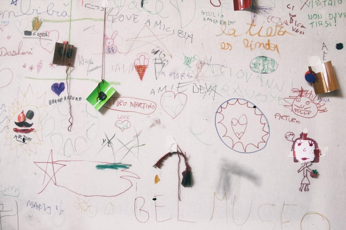 Mus-e sì Mostra. Documenti dell'immaginario. Chiostro di Sant'Agostino, Genova 2017