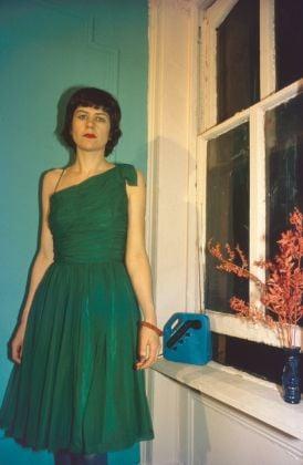 Nan Goldin, Vivienne in the green dress, New York City, 1980 © Nan Goldin
