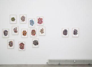 Nanni Balestrini. Periscope, 2016. Exhibition view at MAAB Gallery, Milano 2017. Photo Andrea Sartori
