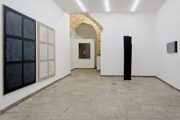 Nyctografie. Exhibition view at RizzutoGallery, Palermo 2017