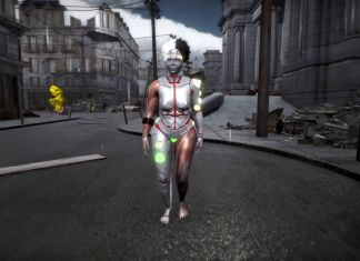 ORLAN, Expèriment mise en jeu. Screenshot