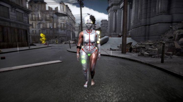ORLAN, Expèriment mise en jeu. Screenshot