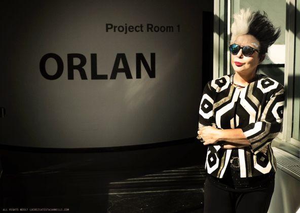 ORLAN, foto di Lucrezia Testa Iannilli, MACRO, Roma