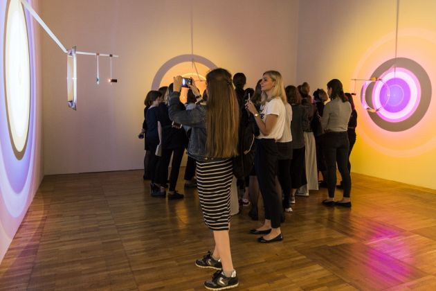 Olafur Eliasson, Biennale di Mosca 2017, photo Natasha Polskaуa