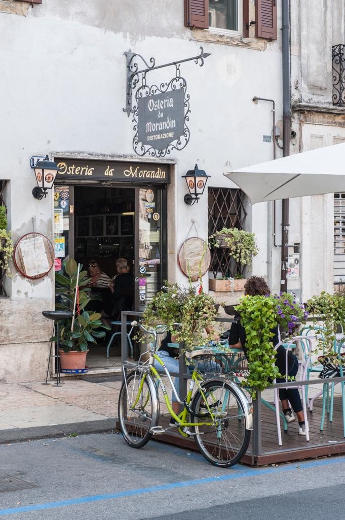 Osteria da Morandin, via XX settembre, Veronetta. Photo © Caterina Parona