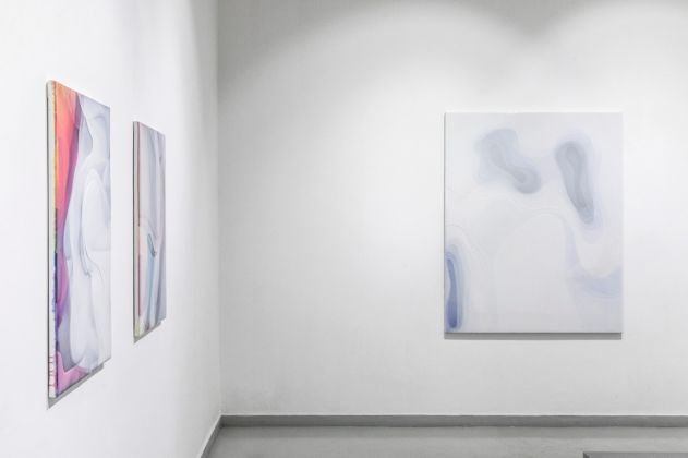 Peter Zimmermann. Italian Curves. Exhibition view at Luca Tommasi Arte Contemporanea, Milano 2017
