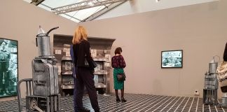 installation view - Lo stand di Pilar Corrias