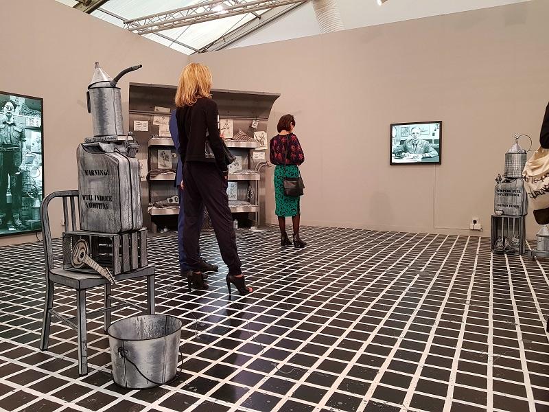 installation view - Lo stand di Pilar Corrias