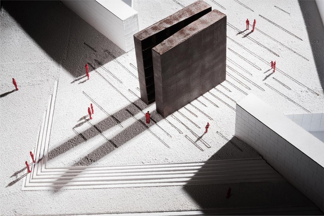 SET Architects, Memoriale per la Shoah, Bologna model by Francisco Muñoz Albarracín. Photo © Ugo Salerno