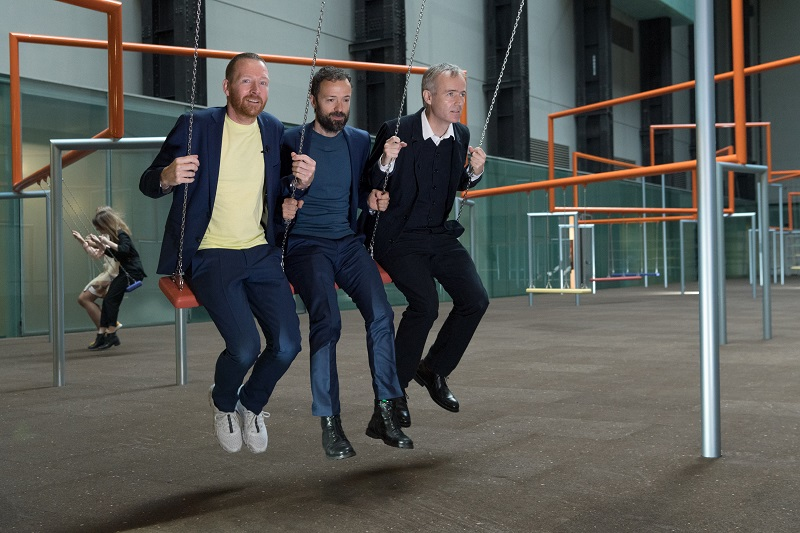 Superflex, One Two Three Swing!, Londra, Turbine Hall Tate Modern