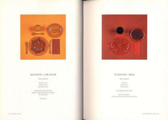 Sophie Calle & Paul Auster, Double Game and Gotham Handbook (Violette Editions, 1999)