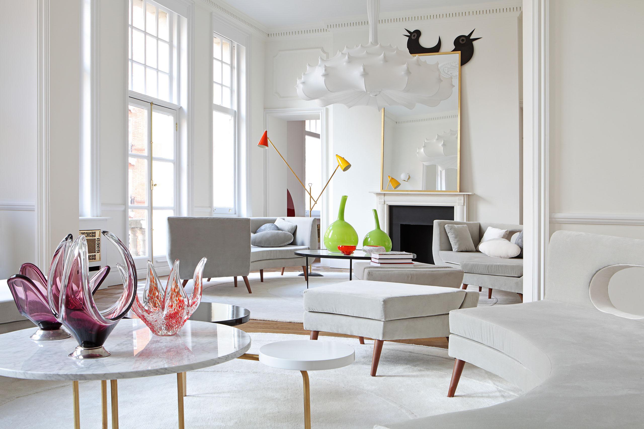 Teresa Sapey Estudio, Appartamento in South Kensington, Londra, 2016