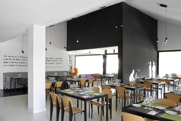 Teresa Sapey Estudio, El Tobogán Restaurant, Madrid, 2015
