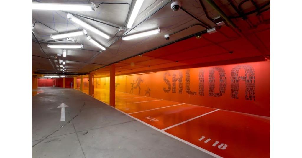 Teresa Sapey Estudio, Parcheggio dell'Hotel Silken Puerta América, Madrid, 2004