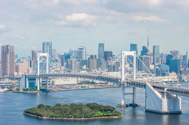 Tokyo Rainbow Bridge. Courtesy Tokyo 2020