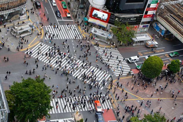 Tokyo, Shibuya. Courtesy Tokyo 2020