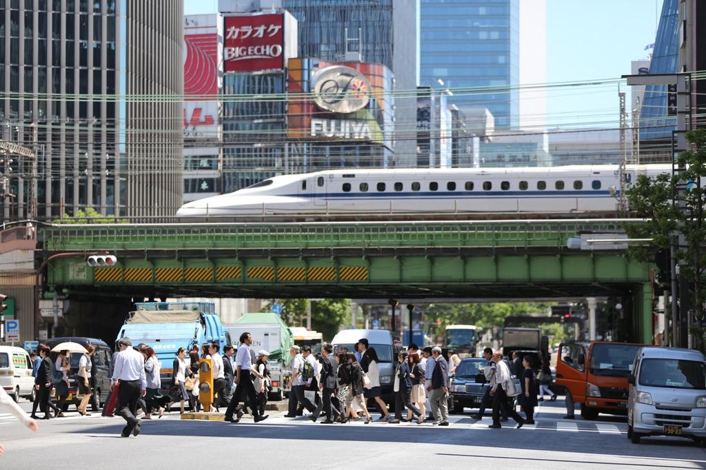 Tokyo, Shinkansen Bullet Train. Courtesy Tokyo 2020