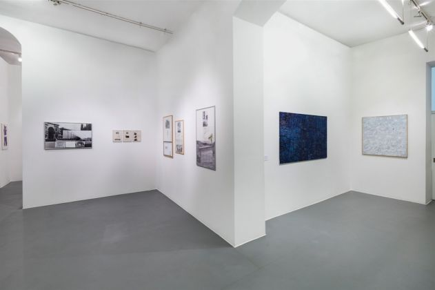 Ugo La Pietra. Territori. Exhibition view at Galleria Bianconi, Milano 2017. Photo Tiziano Doria
