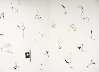 Umberto Chiodi, Assemblaggi, 2017. Installation view