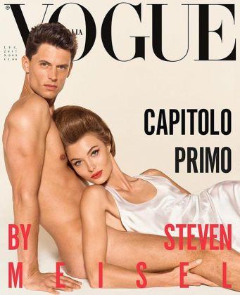 Una copertina di Vogue Italia